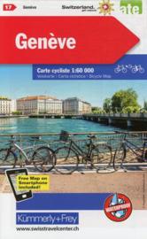Fietskaart Geneva | Kümmerly+Frey nr. 17 | 1:60.000 | ISBN 9783259024171