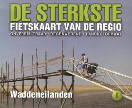Fietskaart De sterkste fietskaart van de regio: Waddeneilanden | Buijten & Schipperheijn | 1:50.000 | ISBN 9789058817204