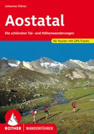 Wandelgids Aostatal | Rother Verlag | mit Großem Walserweg und Alte Vie 1 und 2 | ISBN 9783763340330