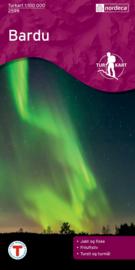 Wandelkaart  Bardu 2599 | Nordeca | 1:100.000 | ISBN 704666002599