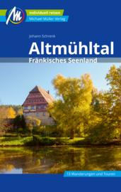 Reisgids Altmühltal, Frankisches Seenland | Mueller Verlag | ISBN 9783956547171