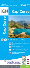 Wandelkaart Luri, Rogliano, Cap Corse | 1:25.000 | Corsica - IGN 4347OT - IGN 4347 OT  | ISBN 9782758546894