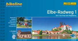 Fietsgids Elbe Radweg 1 - 523 km | Bikeline | Fietsen langs de Elbe | ISBN 9783850007801