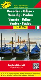 Wegenkaart - Fietskaart Veneto - Udine - Venetië | Freytag & Berndt | ISBN 9783707914856