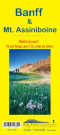 Wandel - Wegenkaart  Banff & Mount Assiniboine No. 5 | GEM Trek | 1:100.000 | ISBN 9781895526691