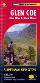 Wandelkaart Glen Coe | Harvey Maps | Schaal 1:25.000 | ISBN 9781851373499
