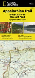 Wandelkaart Appalachian Trail –  Mount Carlo to Pleasant Pond  | 1:63360 | National Geographic 1512 | ISBN 9781597756495
