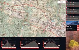 Wandelkaart Senda Pirenaica - van Cabo Higer tot Cap de Creus - Set voor de GR 11 | Editorial Alpina | 1:50.000 | ISBN 9788416918041
