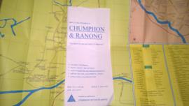 Wegenkaart Chumphon & Ranong | Prannok Witthaya Maps | 1:400.000