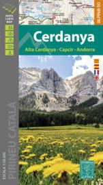 Wandelkaart Cerdanya | Editorial Alpina | Oostelijke Pyreneeën | 1:50.000 | ISBN 9788480908726