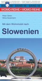 Campergids Mit dem Wohnmobil  durch Slowenien | Womo 56 | ISBN 9783869035666