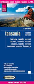 Wegenkaart Tanzania - Rwanda - Burundi | Reise Know How | 1:1,5 miljoen | ISBN 9783831773893