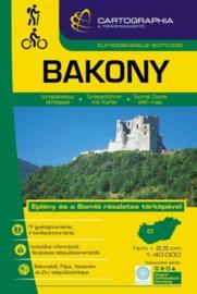 Wandelkaart Bakonywald - Zuidelijk deel | Cartographia krt. 3 | 1:40.000 | ISBN 9789633531266