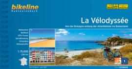 Fietsgids La Vélodyssée 1290 km | Bikeline | ISBN 9783850008174