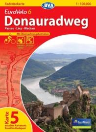 Fietskaart Eurovelo 6 kaart nr. 05. Passau - Wachau | 1 : 100 000 | BVA  | ISBN  9783870736170