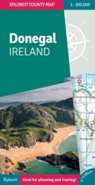 Fietskaart - Wegenkaart Donegal - Ierland | Xploreit | 1:100.000 | ISBN 9780955265587