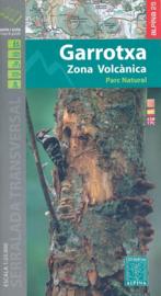 Wandelkaart Garrotxa, Zona Volcanica | Editorial Alpina | Centrale Pyreneeën | 1:25.000 | ISBN 9788480906111
