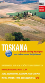 Campergids Toscane - Mit dem Wohnmobil nach Toskana | Werner Rau Verlag | ISBN 9783926145703