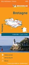 Wegenkaart - Landkaart Bretagne 2021 | Michelin 17512 | ISBN 9782067249653
