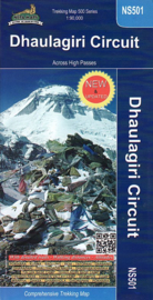 Wandelkaart - Trekking Map Dhaulagiri Circuit | Nepa Publications | 1:90.000 | ISBN 9789937649209