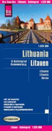 Wegenkaart Litauen - Litouwen | Reise Know How | 1:325.000 | ISBN 9783831772865