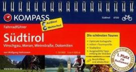 Fietsgids Zuid Tirol | Kompass 6700 | ISBN 9783850264266