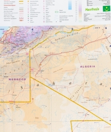 Wegenkaart Mauretanië | ITMB | 1:2,2 miljoen | ISBN 9781771294683