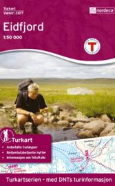 Wandelkaart Eidfjord - Hardangervidda 2677 | Nordeca | 1:50.000 | ISBN 7046660026779