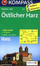 Wandelkaart Harz | Kompass 453 Östlicher Harz  | 1:50.000 | ISBN 9783850268622