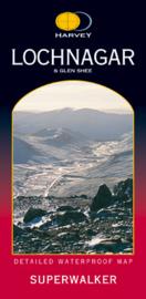 Wandelkaart Lochnagar - Cairngorms   Harvey Maps   Schaal 1:25.000   ISBN 9781851373543