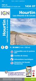 Wandelkaart 1434OT - 1434 OT Hourtin, Lacs D Hourtin Et De Carcans   Franse Atlantische Kust   ISBN 9782758551423