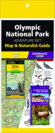 Natuurgids - Topografische kaart - Wandelkaart Olympic National Park | National Geographic Adventure Set  | ISBN 9781583559147