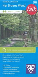Wandelkaart Het groene Woud nr. 06 | Falk | ISBN 9789028727656