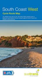 Fietskaart South Coast West | Sustrans Cycle Map | 1:110.000 | ISBN 9781910845325
