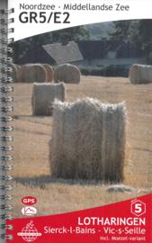 Wandelgids GR5 : Lotharingen - van Sierck les Bains naar Vic-sur-Seille   De Wandelende Cartograaf   ISBN 9789083086927