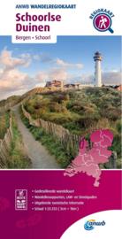 Wandelkaart Schoorlse Duinen | ANWB | 1:33.333 | ISBN 9789018046569
