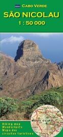 Wandelkaart São Nicolau - Kaapverdische Eilanden | AB Karten-Verlag | 1:50.000 | ISBN 9783934262188