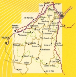 Wandelkaart Vercors - Parc National | 1:60.000 | Editions Libris 10 | ISBN 9782723476737