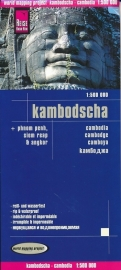 Wegenkaart Cambodja - Kambodscha | Reise Know How | 1:500.000 | ISBN 9783831771004