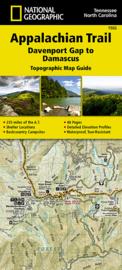 Wandelkaart Appalachian Trail –  Davenport Gap To Damascus | 1:63360 | National Geographic 1502 | ISBN 9781597756396