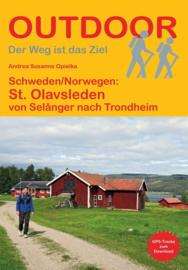 Wandelgids Olavsleden : van Selånger - Sundvall naar Trondheim | Conrad Stein Verlag | ISBN 9783866866355