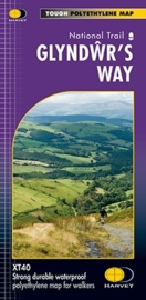 Wandelkaart Glyndwr's Way | Harvey | 1:40.000 | ISBN 9781851375257