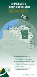 Fietskaart  Brabant & Namen | Alta Via 6 | 1: 75.000 | ISBN 9789082714432