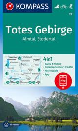 Wandelkaart Totes Gebirge | Kompass 19 | 1:50.000 | ISBN 9783990449424