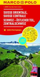 Wegenkaart - Fietskaart Zwitserland Oost | Marco Polo | 1:200.000 | ISBN 9783829740791