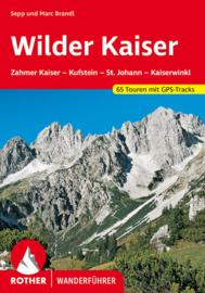 Wandelgids Wilder Kaiser - Zahmer Kaiser – Kufstein – St. Johann – Kössen | Rother Verlag | ISBN 9783763340842