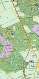 Wandelkaart Zuidoost Drenthe 12  Staatsbosbeheer | 1:25.000 | ISBN 9789028703698