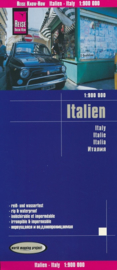 Wegenkaart Italië | Reise Know How | 1:900.000 | ISBN 9783831773923