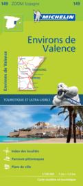 Wegenkaart  Valencia en omgeving - Costa del Azahar | Michelin 149 | ISBN 9782067218239