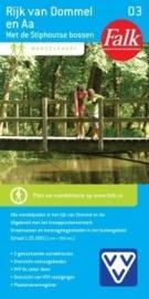Wandelkaart Rijk van Dommel en Aa Met de Stiphoutse bossen nr. 02 | Falk | ISBN 9789028726963